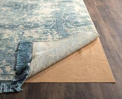 recommended for area rugs placed on all hard surface flooring