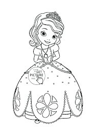 Princess Leia Coloring Pages Printable Princess Coloring Page Free