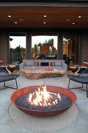 modern patio fire pit. Idea Patio Fire Table For Propane Ideas Contemporary With Modern Outdoor Lounge Sets 19 Backyard Pits Calgary Pit