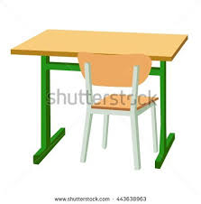 school desk and chair clipart. Contemporary Desk Clipart Chair School Desk Throughout School Desk And Chair Clipart C