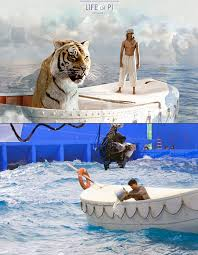 rarely seen behind the scenes pictures from famous films here s a rare behind the scenes image from ang lee s hit movie the life of pi one interesting tidbit is that he filmed 70% of the movie in taiwan
