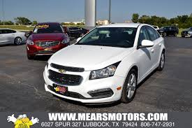 Used 2015 Chevrolet Cruze For Sale | Lubbock TX