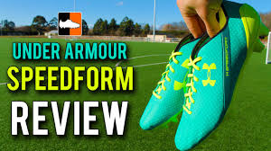 under armour football boots. under armour speedform review - new speed football boot range youtube boots