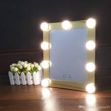 Image Vanity Mirror Hollywood Makeup Mirror With Led Lights Aluminum Vanity Makeup Lighted Mirror Big 9bulb Bathroom Mirror Cosmetic Mirror Large Bathroom Mirrors From Dhgate Hollywood Makeup Mirror With Led Lights Aluminum Vanity Makeup