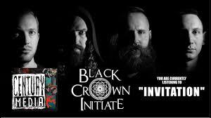 BLACK CROWN INITIATE - <b>Invitation</b> (Album Track) - YouTube
