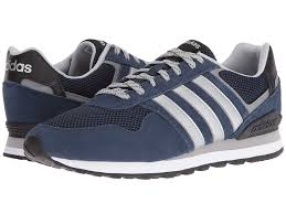 adidas mens shoes. adidas 10k (navy/silver/clear onix) men\u0027s running shoes mens n