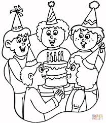 Small Picture Cake coloring pages Free Printable Pictures