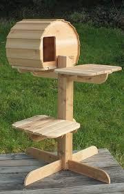 outdoor cat furniture lovely impressive best 25 outdoor cat tree ideas diy