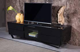 modern black tv stand. Delighful Modern Nova Domus Max Modern Black TV Stand  In Tv L
