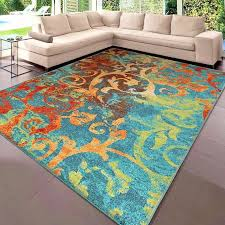details about rugs area rugs 8x10 rug carpets modern large colorful bedroom big cool blue rugs
