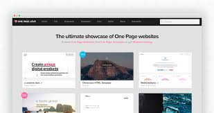 One Page Menu Template Free One Page Love One Page Website Inspiration And Templates