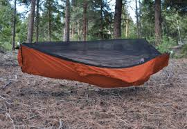 the ridgerunner is a luxurious and innovative hammock with spreader bars for a super flat lay an integrated bug net and lots of storage