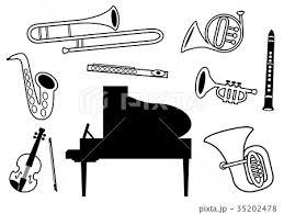 金管楽器のイラスト素材集 Pixtaピクスタ