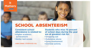 student absenteeism child trends