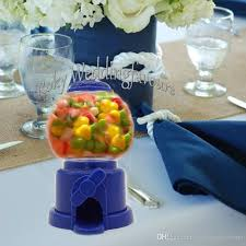 mini plastic gumball machine box candy chocolate holder wedding favors bridal shower sweet table decoration supplies 18th birthday party decorations 18th
