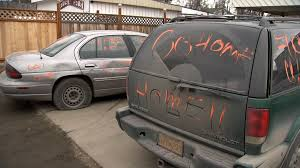 sudan refugee concerned for his safety after vandalism outside his mohammed abdallai who moved to alaska almost five years ago as a refugee says he is concerned for his safety after the cars outside of his home were