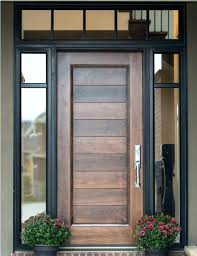 wood front doors with glass wooden set all about home design exterior panels door panel replacement