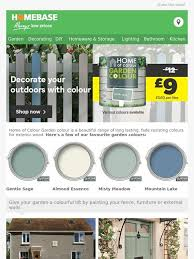 Homebase Decorate Your Garden And Home With Colour Milled