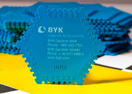 A standard wet film thickness gage from BYK