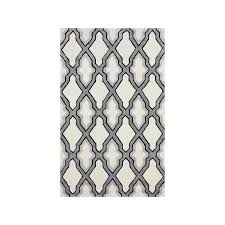 rashford handmade marrakesh moroccan grey trellis rug is a handmade rugs that is made from synthetic mainly use for indoor the rugs is rectangle in shape