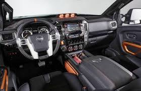 2018 nissan titan lifted. wonderful nissan 2018 nissan titan warrior interior 1 intended nissan titan lifted