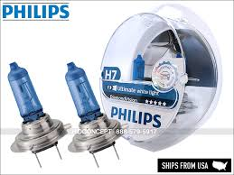 Details About New Authentic H7 Philips Diamond Vision 5000k 12972dvs2 Headlight Bulbs 12v 55w
