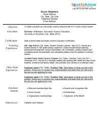 Teaching Objective Resume Teaching Objective Resume Sample Resume