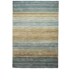 graduated stripe coastal blue rug pier one area rugs tj ma rugs