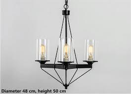 retro iron chandelier led pendant lamps iron ceiling
