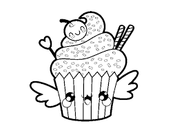 Disegno Di Gatto Unicorno Kawaii Da Colorare Migliori Pagine Da