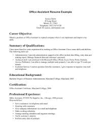 Example Of Medical Assistant Resume 6 Example Medical Assistant Resume Ismbauer