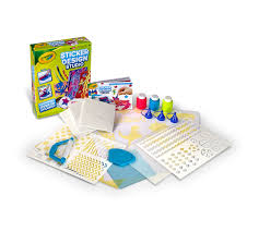 Sticker Design Studio Crayola Crayola Sticker Design Studio Paint Print Art Activity Repositionable Stickers Decorate Gear School Supplies More Crayola