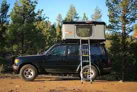 the hard shell rooftop tent explorers want at a steep