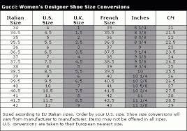Gucci Size Chart Gucci Shoe Size Chart World Of Menu And Chart For Gucci