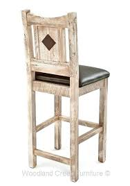 antique wooden stools a unique rustic bar stool wood uk with arch