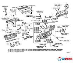 2005 Toyota Camry Exploded Engine Diagram #SWEngines | Engine ...