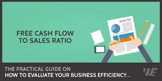 How To Calculate Cashflow Free Cash Flow To Sales Ratio Formula Calculator