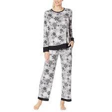 Aria 2 Piece Brushed Sweater Knit Pajama Set
