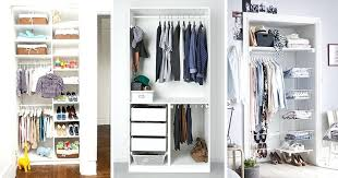 closet organizers for small closets 9 storage ideas for small closets contemporist closet organizers for small