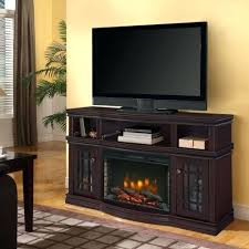 espresso electric fireplace media in muskoka 42 widescreen console rich finish
