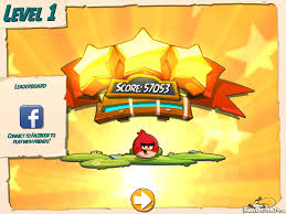 Angry Birds Under Pigstruction Soft Launch Level Complete Stars