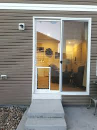 sliding glass dog door insert beautiful patio