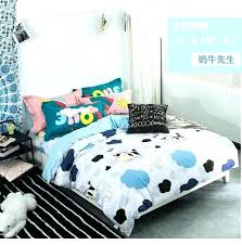 twin bed cover full bed covers cartoon cow cotton twin full queen king size bed covers