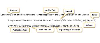 mla scientific paper article or class handout mla apa citation pscc libraries at