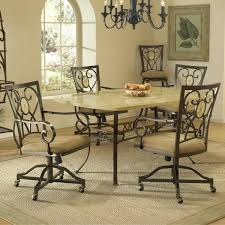 furniture fascinating design of dining room chairs with casters showing modern design heram decor