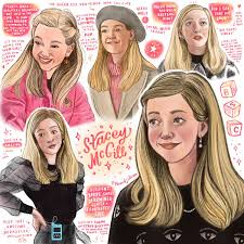 Stacey McGill - The Baby-Sitter's Club   The baby sitters club ...