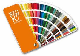 International Coatings Ink Color Chart Germany Ral K7 International Standard Color Card Raul Paint