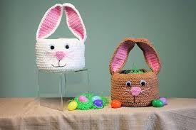 Free Crochet Easter Basket Patterns