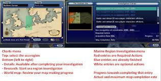 Uncharted Waters Online Charting Sea Region Charting Official Uncharted Waters Wiki
