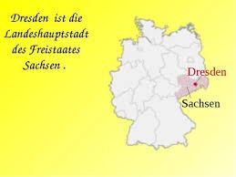 Презентация по немецкому языку по теме Города Германии Дрезден  dresden ist die landeshauptstadt des freistaates sachsen sachsen dresden